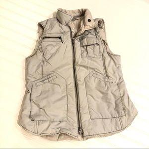 CABI Style 189 Gray Puffer Vest